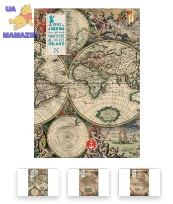 "Тетрадь А4/96  ""Ancient map""  YES"