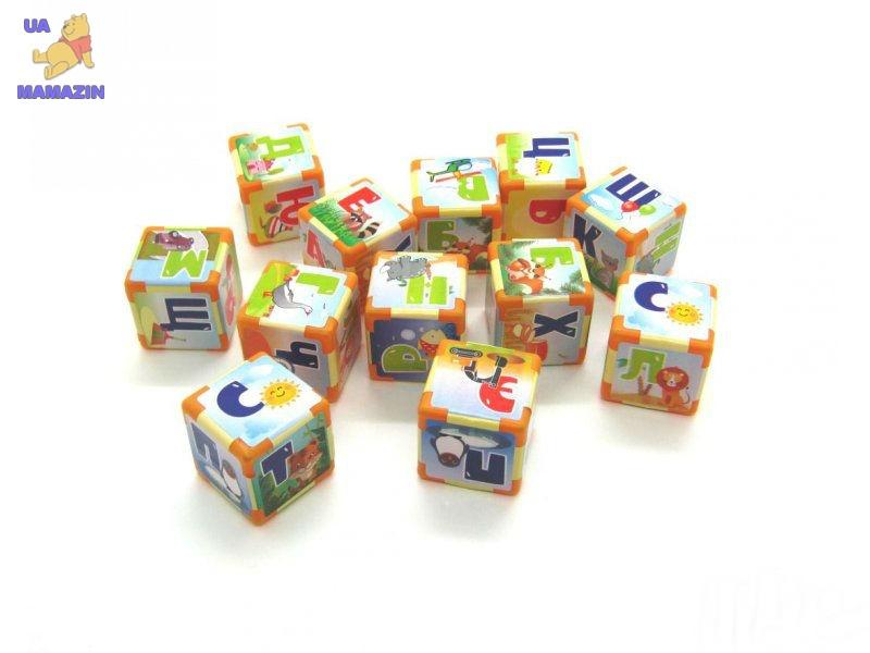 Азбука на кубиках М 12 шт