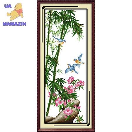Вышивка крестом. Райские птицы