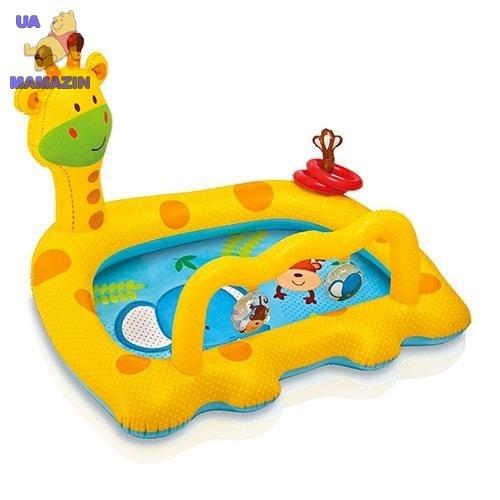 """Детский бассейн """"Улыбающийся жираф"""" Интекс"""