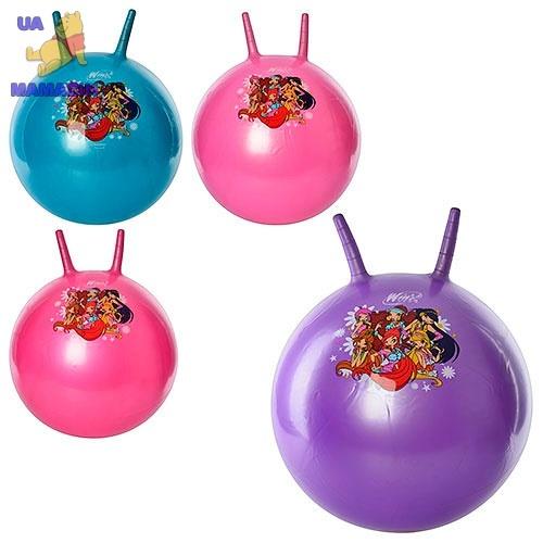 Мяч для фитнеса - 45см с рожками, Winx