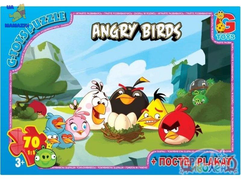 "Пазли ""Angry Birds"", 70 елементів"