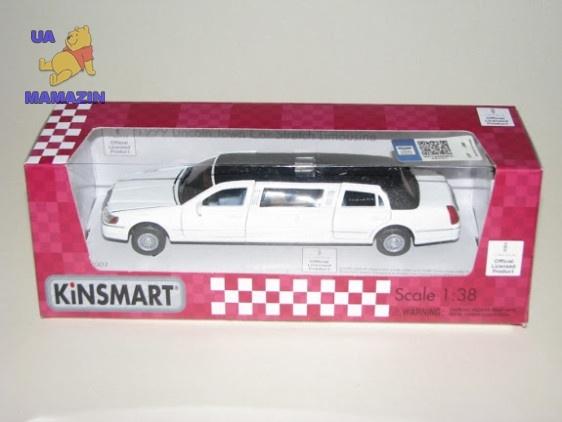Коллекционная машинка Lincoln Town Car Stretch Limousine 1999