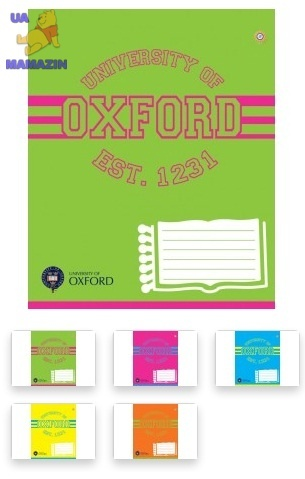 Тетрадь А5/24 линия  OXFORD-15