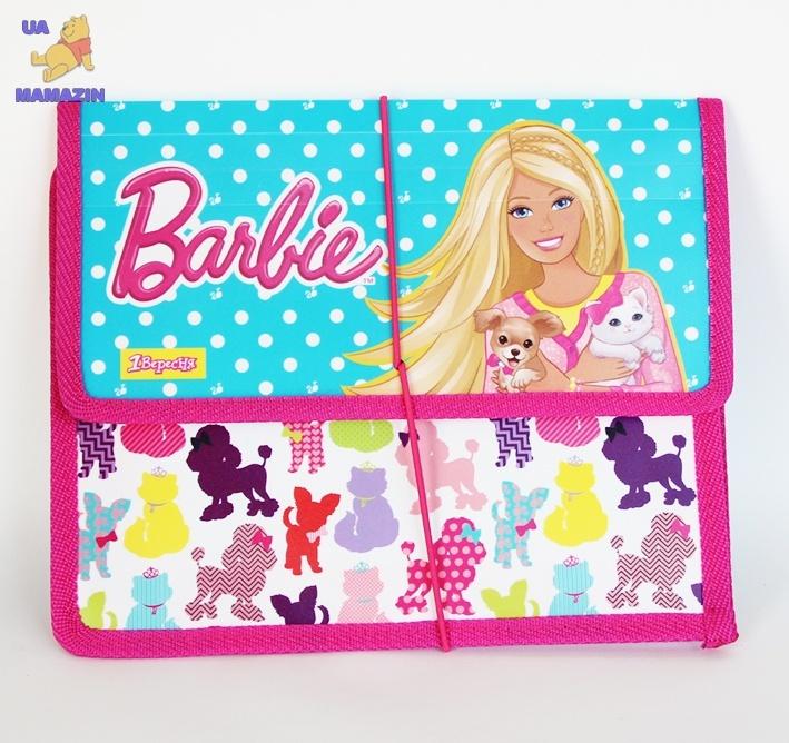 """Папка для тетрадей на резинке  В5 """"Барби"""""""