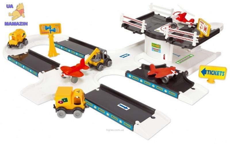 """Набор """"Kid Cars 3D"""" Аэропорт"""