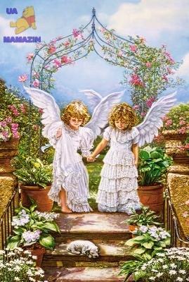 """Пазлы """"Два ангела"""""""