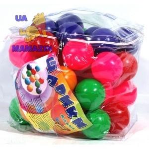 Шарики малые в сумке 45 шт.