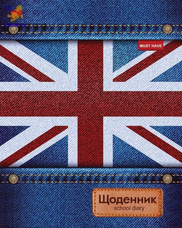 """Дневник школьный интегральный (укр.) """"Jeans"""""""