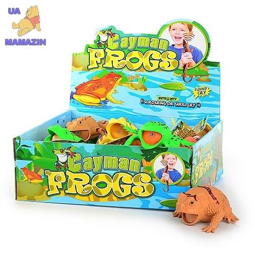 Животное резиновая лягушка