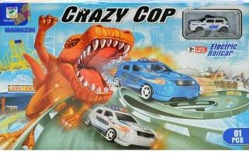 """Трек для машинок """"Crazy Cop"""""""