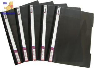 Скоросшиватель, пластиковый А4 черный