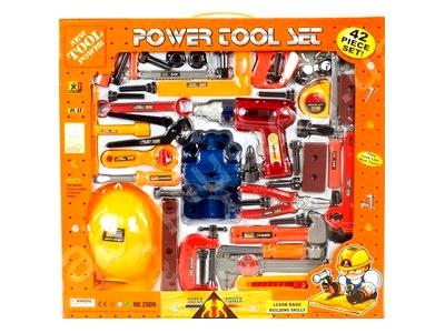 Детский набор инструментов с каской