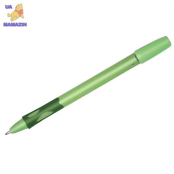 Ручка шариковая для правши салатовый STABILO