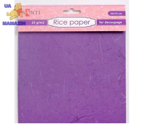 Рисовая бумага, фиолетовая, 50*70 см