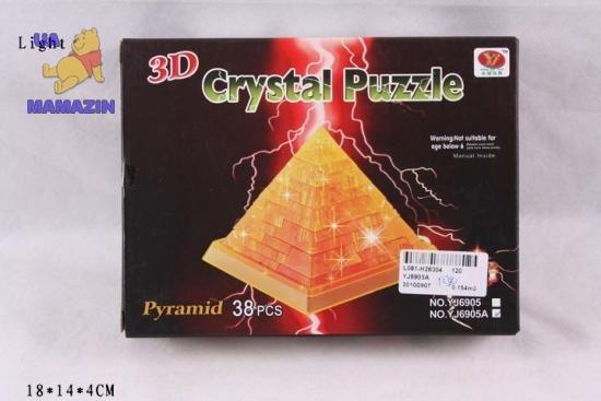 Конструктор пирамида со светом