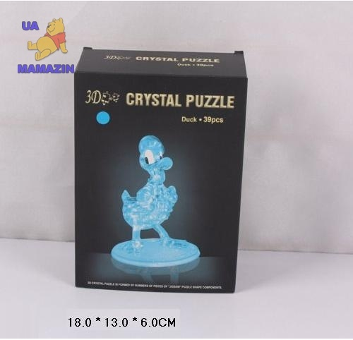 "Пазлы 3D-кристалл ""Утка"""