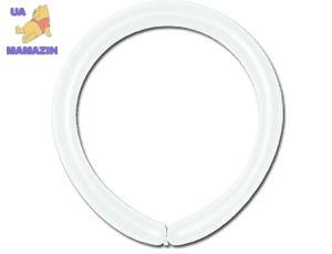Набор шариков 100 штук для конструирования пастель білий