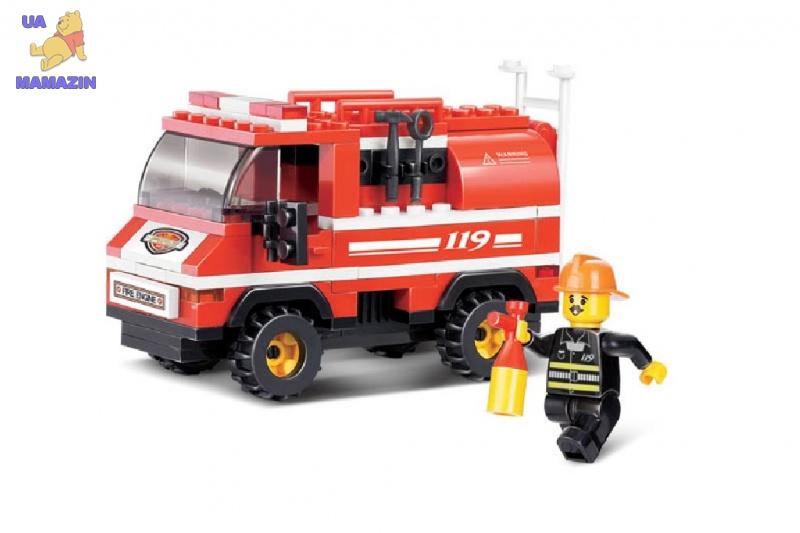 Конструктор SLUBAN пожарный