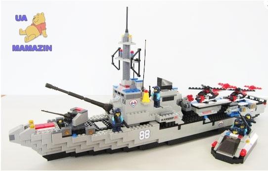 """Конструктор """"Военный корабль"""" ТМ JUBILUX"""