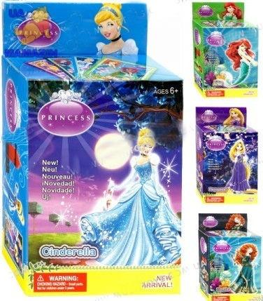 Конструктор Принцессы, 4 вида