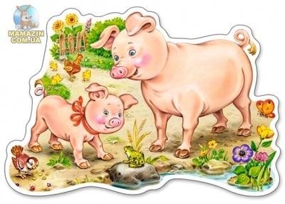 "Пазлы ""Свинки"""