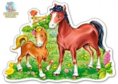 """Пазлы """"Лошадки"""""""