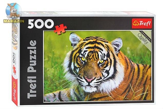 Пазлы Тигр, 500 деталей