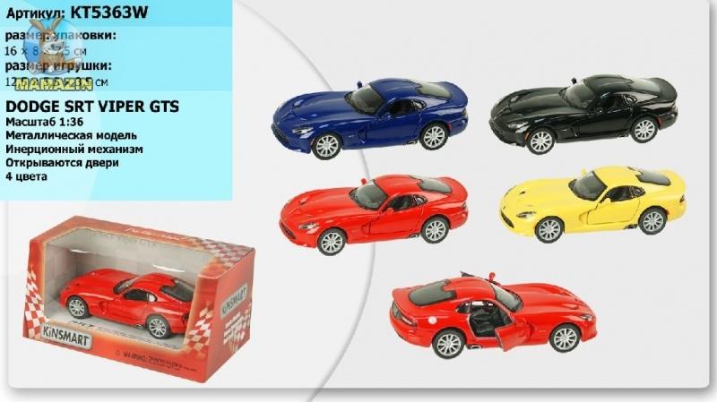 Машина коллекционная SRT Viper GTS