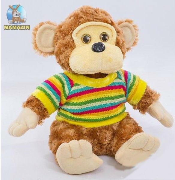 Мягкая игрушка Обезьянка в свитере