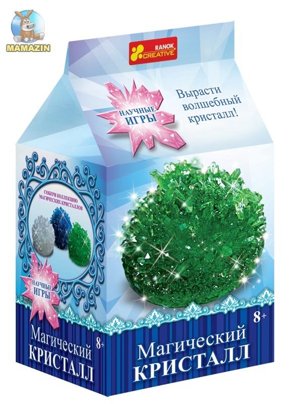 """Набор для опытов """"Магический кристалл. Зелёный"""""""