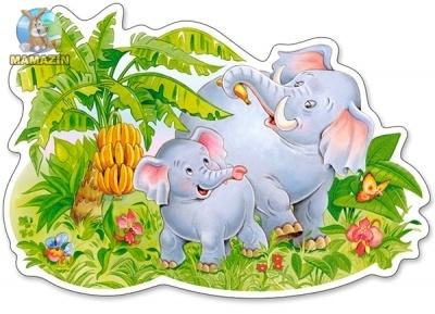 """Пазл """"Слоны"""""""