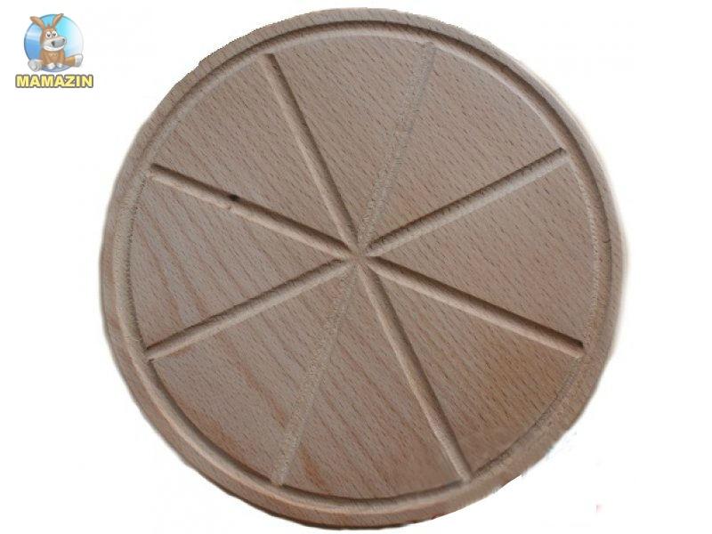 Деревянная подставка под пиццу 26 см
