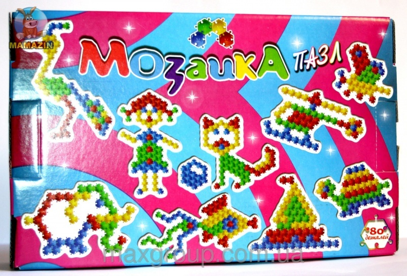 "Мозаика ""Пазл"" 80 деталей"
