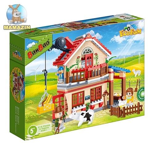 Конструктор BANBAO Загородный дом