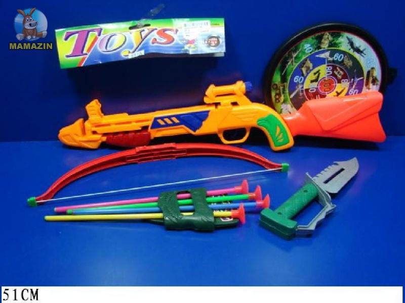 Арбалет со стрелами - игровой набор
