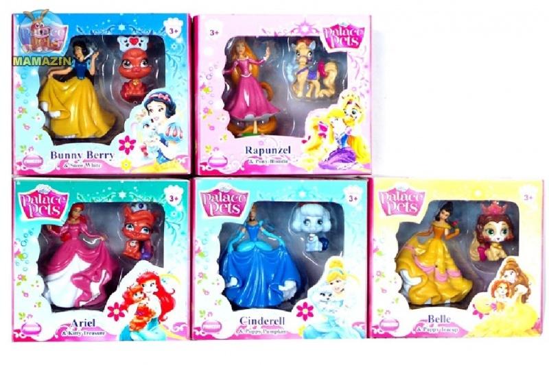 Питомцы PETS с принцессами