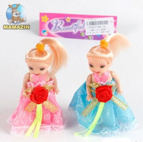 Кукла 10см, 2шт