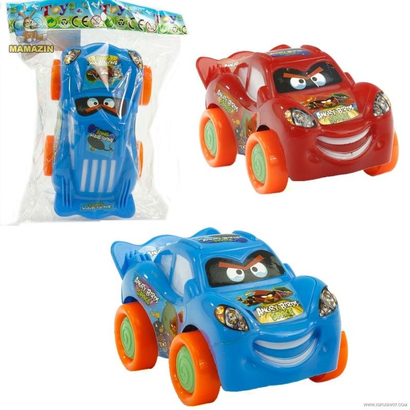 Машинка в пакете