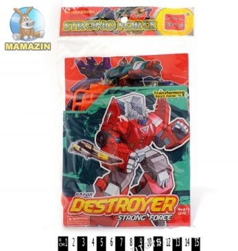 """Робот-трансформер """"Destroyer Strong Force"""""""