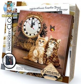 Творчество. Часы Embroidery Clock