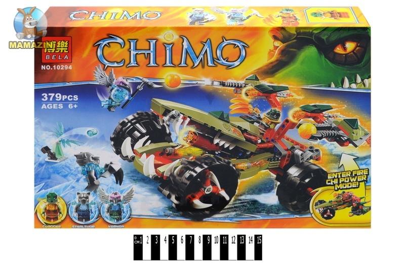Конструктор Brick CHIMО 379 деталей