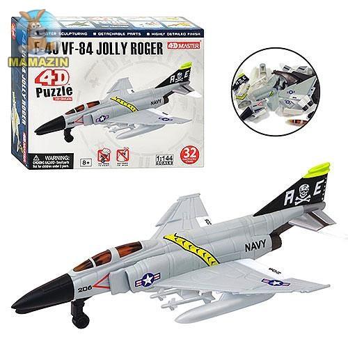 """Пазлы 4D """"Самолет F-4J VF-84"""""""