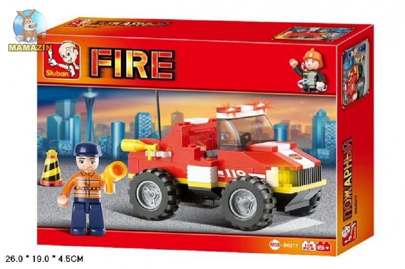 Конструктор пожарная машина ТМ Sluban