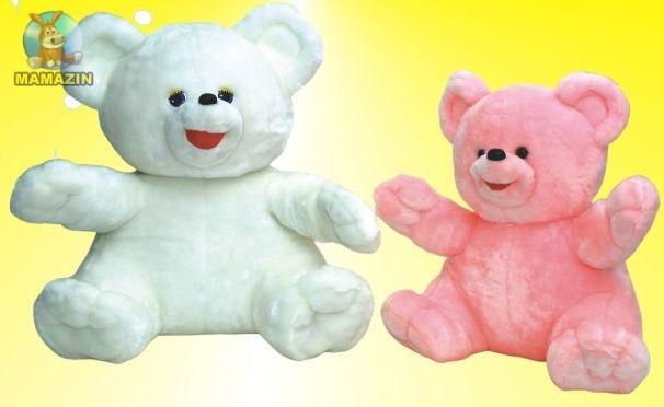 Мягкая игрушка Медведь Умка мутон большой розовый