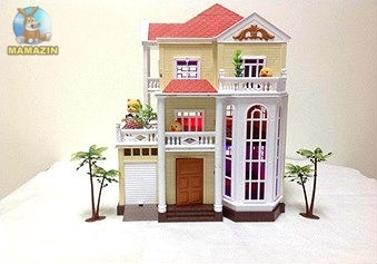 Трехэтажный дом с гаражом  Happy Family