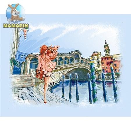 Вышивка бисером Прогулка по Венеции
