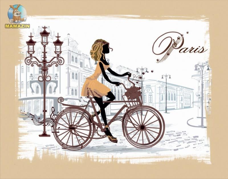 "Вышивка бисером ""По улицам Парижа"""