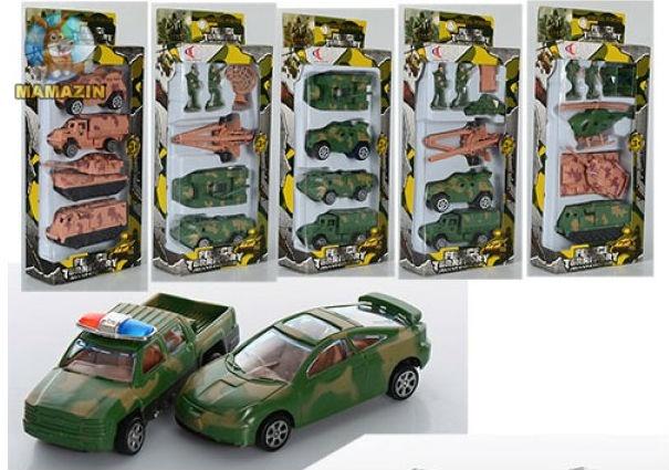 Набор транспорта военный