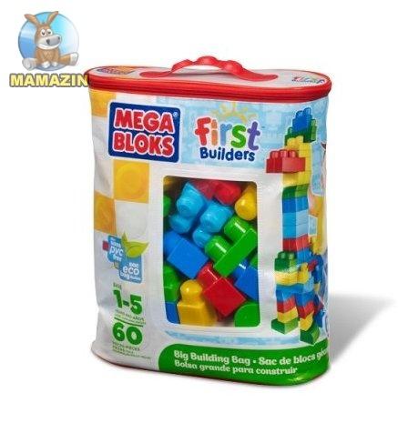 Набор конструктора Классический, Mega Bloks 60 деталей